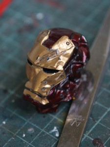 DSC06061 225x300 WIP: Iron man mk 3 crushed helmet part 2