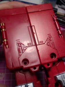 IMAG0323 225x300 Repaint Takara MP1 Convoy (Optimus Prime) part 2