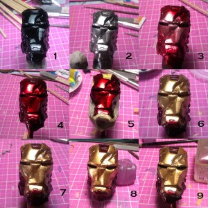 steps 300x300 WIP: Iron man mk 3 crushed helmet part 2