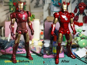 bnf 300x225 Hot Toys Iron Man mk 3 repaint part 2.