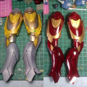 leg 300x300 Hot Toys Iron Man mk 3 repaint part 1